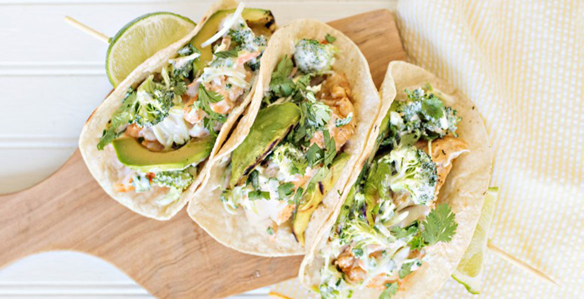 Fortune Imports | Grilled Fish & Avocado Tacos