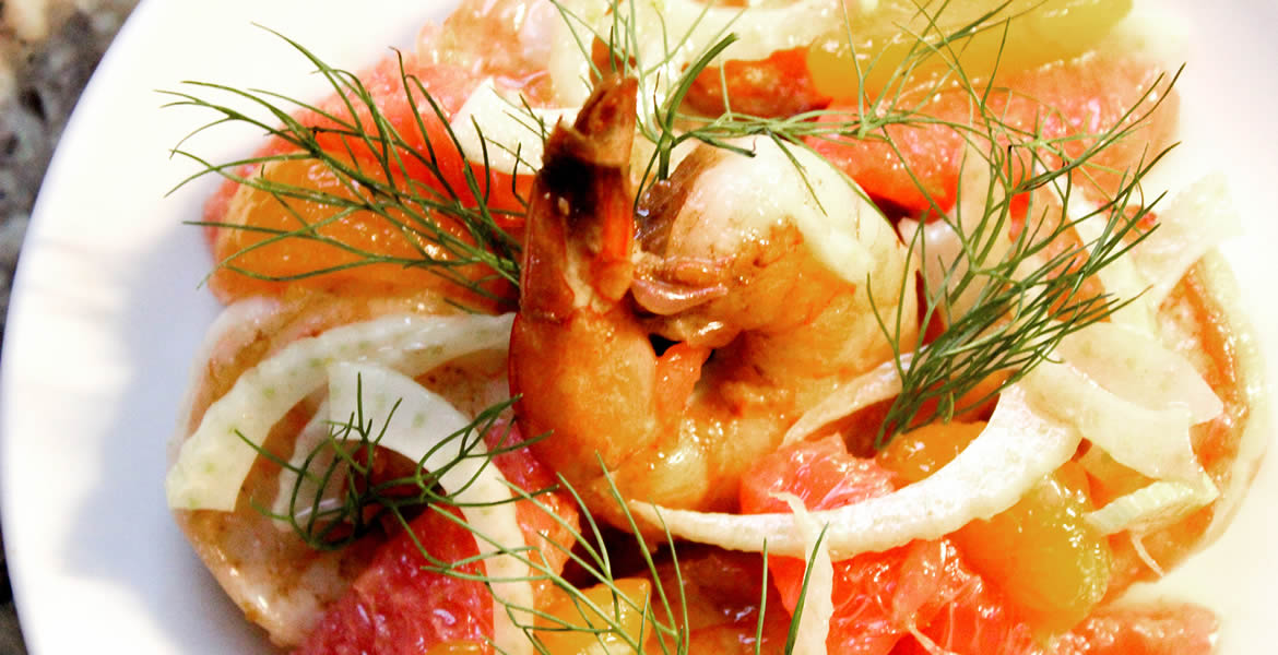 Fortune Imports | Shrimp, Fennel, & Citrus Salad
